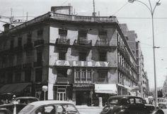 Chaflán del paseo de Ruzafa con la calle de Colón (1961)