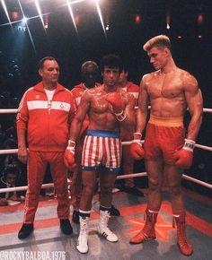"13.3k Likes, 71 Comments - Rocky Balboa (@rockybalboa.1976) on Instagram: ""ROCKY IV Really Rare Pic Drago Was Actually Really Tall ⚡️👊🏼⚡️👊🏼⚡️👊🏼⚡️👊🏼 #rockystatue #rockysteps…"""