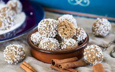 Snabba havrebollar smaksatta med julens alla kryddor!