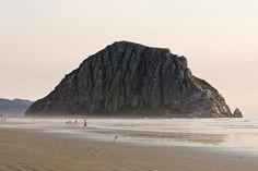 Morro Rock, at Morro Bay, Ca.