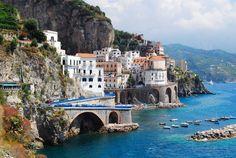 Atrani, Amalfi Coast, province of Salerno, Campania Italy