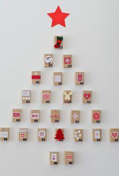 arbol de navidad minimalista