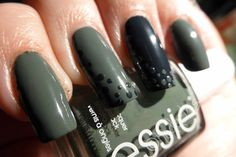 Kodachis Nailart - Essie - fall in line & the perfect cover up