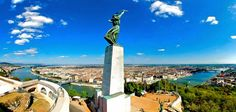 Citadella, Freedom Statue - Budapest - About Hungary Budapest City, Budapest Hungary, Live Picture, Cn Tower, Statue Of Liberty, New York, In This Moment, Vacation, Places