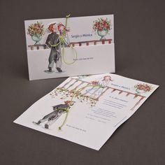 Romeo y Julietta Creative Wedding Invitations, Elegant Invitations, Wedding Invitation Design, Wedding Stationery, Pearl Bouquet, Fun Fold Cards, Handmade Wedding, Wedding Cards, Wedding Planning