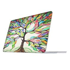 "Fintie MacBook Pro 13 Retina Case (NO CD-ROM Drive) - Ultra Slim Soft Touch Plastic Hard Cover Snap On Protective Case For Apple MacBook Pro 13.3"" with Retina Display (A1502 / A1425), Love Tree"