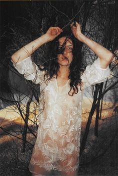 Folk Magic photographed by Juergen Teller, Vogue UK March 1999