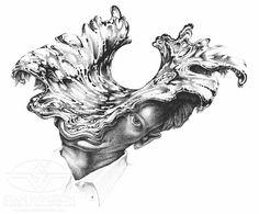 "SWS concept designer Mark ""Crash"" McCreery's rendering of the ""Splash Head"" effect. #terminator"