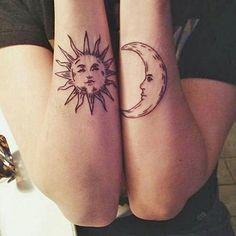 Sun & moon. love - Follow my art page: @justartspiration