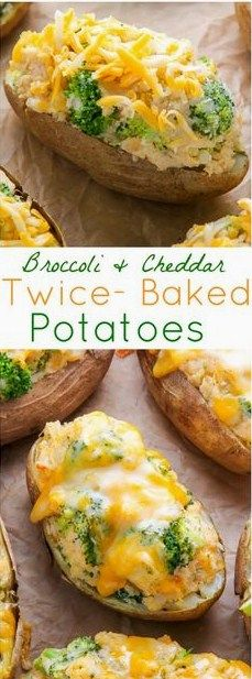 These Broccoli Cheddar Twice Baked Potatoes are bite-sized and make the perfect easy holiday appetizer! Plus, they're easy to make ahead! #broccoli #cheddar #twicebaked #potatoes #easyrecipes