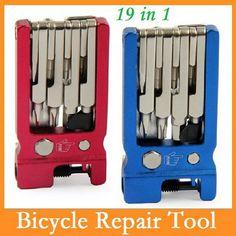 SAHOO 19 In 1 Bike Tools Kit Kit Cycling Repair Tool  Bicycle Tools Portable BMX MTB Multi Tools Mountain Herramientas Bicicleta