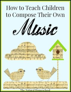 Have you been wanting to incorporate the Fine Arts into your homeschool? Here is the most fun and easiest way to have children tap into their creativity and inspirational reservoirs to create awesome music. Piano Lessons, Lessons For Kids, Music Lessons, Piano Teaching, Teaching Kids, Learning Piano, Teaching Resources, Music Lesson Plans, Music Composers