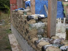 pictures of cordwood homes construction | Cordwood building