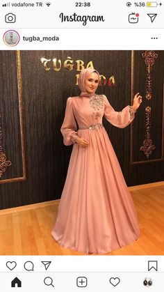 Hijab Evening Dress, Hijab Dress Party, Hijab Wedding Dresses, Evening Dresses, Dress Wedding, Dress Prom, Dresses Elegant, Most Beautiful Dresses, 15 Dresses