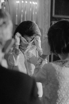"Lee Radziwill at Truman Capote's ""Black and White"" Ball, The Plaza Hotel, NYC, 1966."