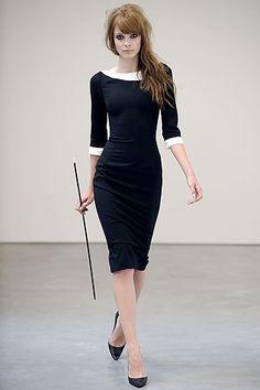L'Wren Scott Ready-To-Wear Collection, Spring/Summer 2009. Sheath dress.