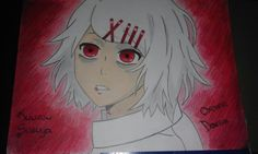 My drawing - Juuzou Suzuya color- Tokyo Ghoul