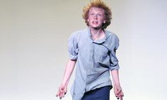 Alex Chorley, winner of the 2014 McDonald's Sydney Eisteddfod Monologue/Character - In Costume 14 Yrs event