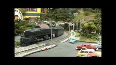 Pennsylvania Railroad Passenger Train Action on the AAMR