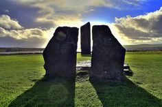 standing stones scotland | Standing Stones Of Stennes, Orkney, Scotland by Maria i David on Flickr