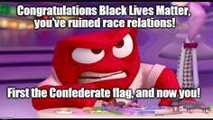 #InsideOut #BlackLivesMatter #racism #ConfederateFlag