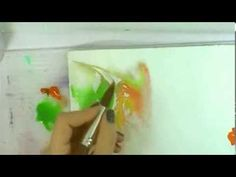 How to Use Masking Fluid in Watercolor Painting - YouTube