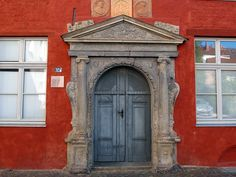 Renaissance portal in the world heritage site of Stralsund, Germany Saxony Anhalt, Rhineland Palatinate, Lower Saxony, North Rhine Westphalia, Entrance Doors, World Heritage Sites, Renaissance, Castle, Germany