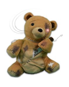 deady bear animated decoration spirit exclusive