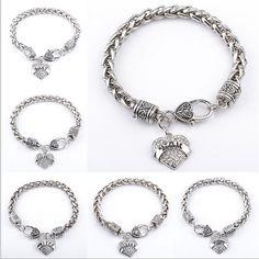 Crystal Paved Heart Charm Bracelet #daughter #bracelet #banner #Crystal #believe #faith #grandma #aunt #bestfriend #cubiczirconia https://goo.gl/0BW4Tq
