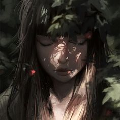 Digital illustration that's a study in shadow and light. Wow. The link says the source is guweiz (?)