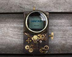 Game Boy steampunk par Elise Siegwald