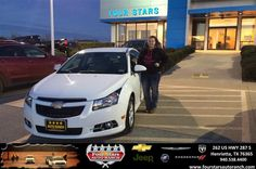 I had a great experience purchasing my new car from Gene Klinkerman at Four Stars Auto Ranch in Henrietta, Texas. All the staff was very nice and helpful. It was an amazing first experience and will definitely purchase again from here.  Madison Postelwait Wednesday, January 07, 2015