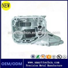 high quality contract manufacturing aluminum motor casing casting parts