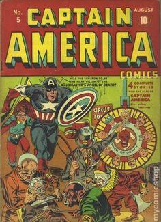 Captain America Comics (1941 Golden Age) 5