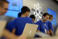 Former Apple engineer says he got turned down for a job at the Genius Bar     - CNET  Technically Incorrect offers a slightly twisted take on the tech thats taken over our lives.  Enlarge Image  No one is too old to be a genius surely                                             Getty Images                                          Theyre very clever arent they?  You walk into your Apple store. They have a friendly air. They valiantly resist condescension.   Theres one other thing: Apples…