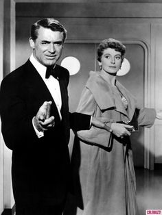 """An Affair to Remember.""..... Cary Grant & Debra Kerr Terry McKay: What makes life so difficult? Nickie Ferrante: People?"