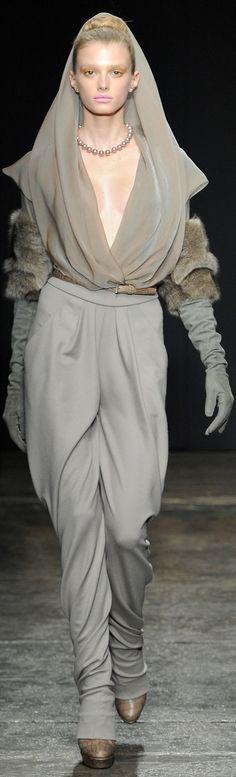 Donna Karan Ready-To-Wear Fall 2011