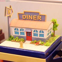[Miniatuart] Miniatuart Mini : American Diner (Assemble kit) (Model Train) Other picture2