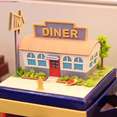 [Miniatuart] Miniatuart Mini : American Diner (Assemble kit) (Model Train) Other picture2