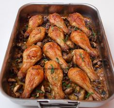 Good Food, Yummy Food, Tasty, Chicken Recipes, Chicken Ideas, Asian Noodles, Romanian Food, Holiday Baking, Chicken Wings