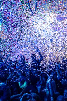 life's one big party, live a little. #edm #confetti