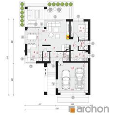 Dom w jaskierkach Modern Farmhouse, Pergola, Projects To Try, Floor Plans, Future, Decor, Home Architecture, Build House, Projects