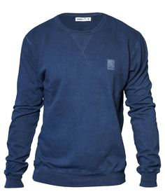 All Natural Sweater in azzurro - organic clothing