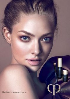 amanda seyfried cle de peau beaute 2014 campaign2 Amanda Seyfried Stuns in New Clé de Peau Beauté Ads