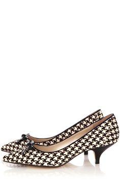 Pony kitten heels from Karen Millen.