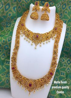 Indian Jewelry Designs: New Jewlery Collection Gold Bridal Jewellery Sets, Wedding Jewellery Designs, Indian Jewelry Sets, Indian Wedding Jewelry, Gold Jewellery Design, Indian Bridal, Gold Jewelry, Diamond Jewellery, Indian Gold Jewellery