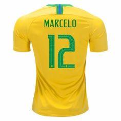 2018 Brazil Marcelo World Cup Home Jersey 2018 Brazil Marcelo World Cup Home  Jersey  4540e94b518fe