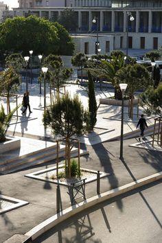 Front Square Of St Charles Station by Ilex Paysages & Urbanisme 03 « Landscape Architecture Works | Landezine