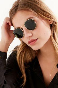 52460c6bcb Ray-Ban Round Metal Classic Sunglasses