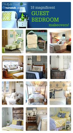 18 Magnificent Guest Bedroom Makeovers {a Hometalk Curated Board} - CHATFIELD COURT